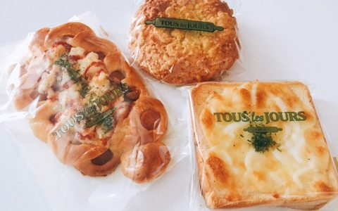 【韓国グルメ】トゥレジュルでいつも買うパン!