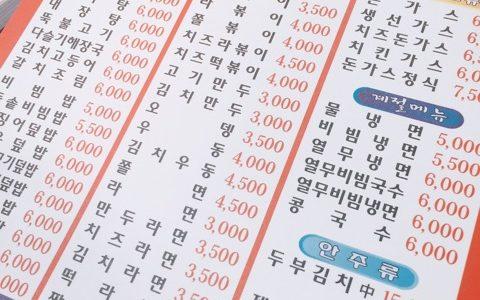 【韓国グルメ】メニュー豊富で迷うこと間違いなし!キムパプサラン