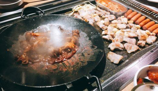 【ソウル/ホンデ(弘大)】がっつりサムギョプサル・ゴーゴーゴー