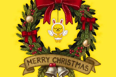 【カカオフレンズ】クリスマス カカオ♪