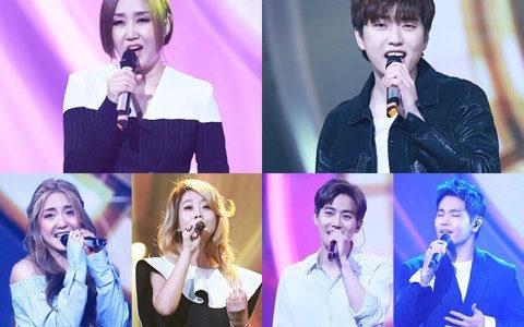 【MBC】先週のデュエット歌謡祭!