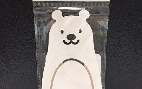 【韓国ダイソー】ダイソーで買ったしろくま携帯スタンド