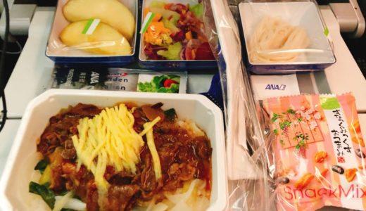 初めての金浦空港&ANAの機内食と乗り心地