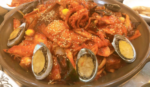 ピリ辛海鮮牛肉煮込みで暑さを乗り切る!