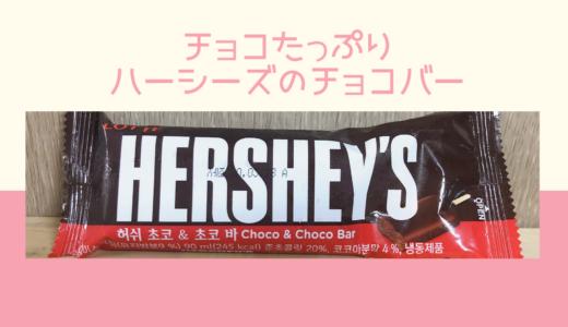 チョコたっぷりハーシーズのチョコバーアイス